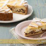 Crostata di ricotta e gocce di cioccolato ricetta | Ho Voglia di Dolce