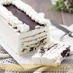 Torta gelato alla panna e cioccolato ricetta | Ho Voglia di Dolce