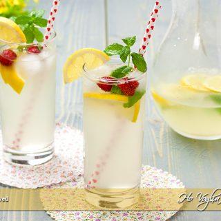 Limonata fatta in casa e varianti