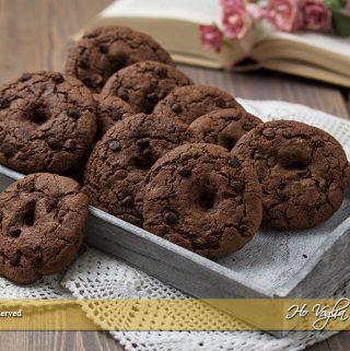 Biscotti al cacao da inzuppo