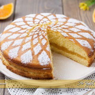 Torta cuor d'arancia
