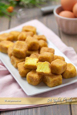 Crema fritta o cremini ricetta facile | Ho Voglia di Dolce