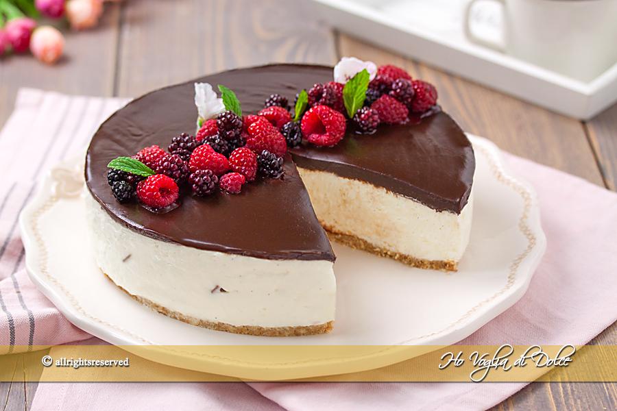 Cheesecake Senza Cottura La Ricetta Base Infallibile Ho