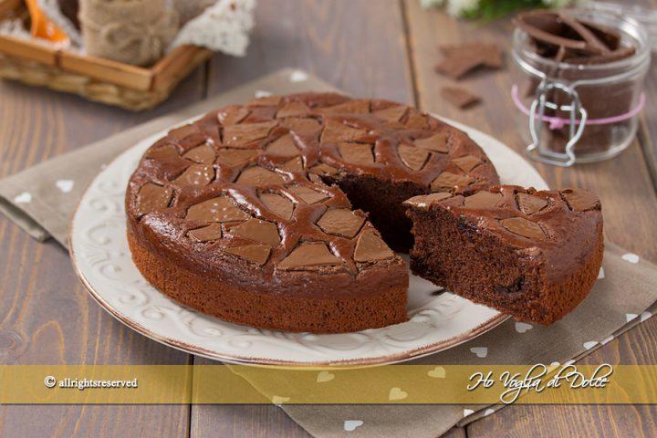Torta Con Amido Di Mais Senza Uova.Torta Al Cioccolato Senza Uova