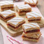 Quadrotti alla marmellata con farina integrale ricetta | Ho Voglia di Dolce
