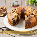 Ciambella bicolore con farina integrale ricetta | Ho Voglia di Dolce