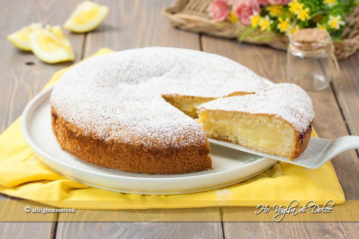 Torta al limone cremosa velocissima ricetta | Ho Voglia di Dolce