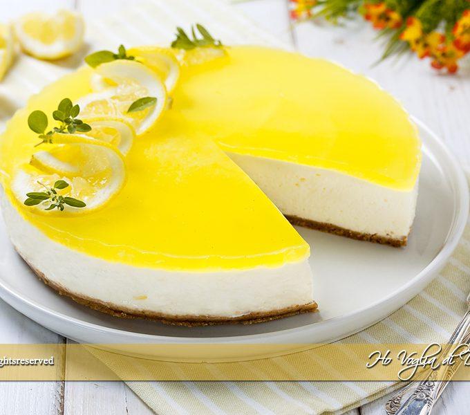 Cheesecake al limone senza cottura ricetta | Ho Voglia di Dolce