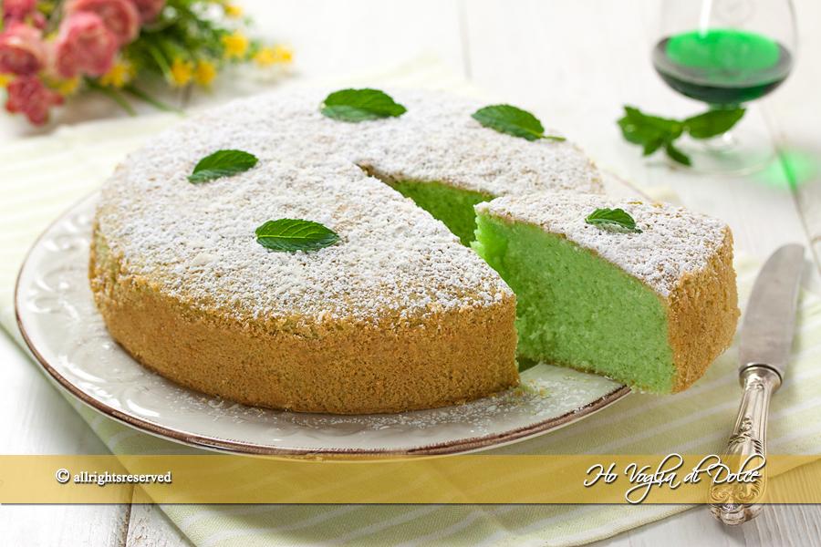 Torta alla menta soffice e veloce ricetta ho voglia di dolce for Siti ricette dolci