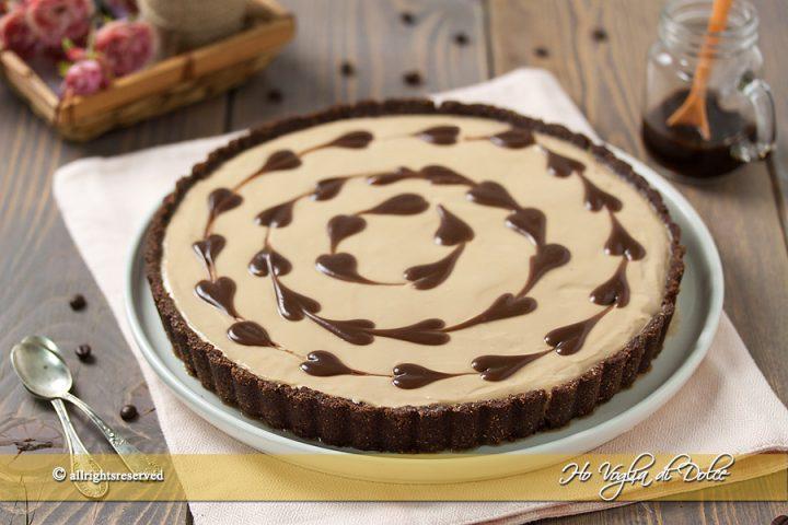 Crostata Al Caffè E Cioccolato Senza Cottura Ricetta Ho Voglia Di
