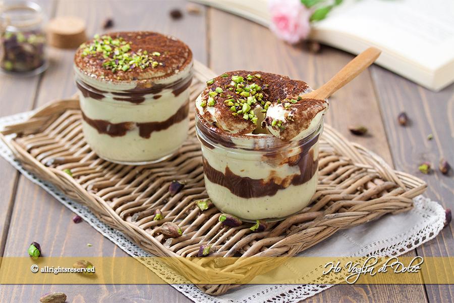 Ricetta Tiramisu Al Pistacchio Con Pavesini.Tiramisu Al Pistacchio E Cioccolato Ricetta