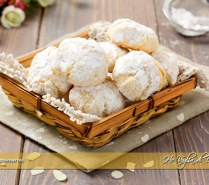 Biscotti alle mandorle e limone velocissimi   Ho Voglia di Dolce