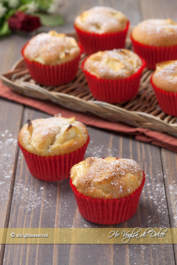 Ricetta Muffin Di Mele.Muffin Alle Mele Senza Burro