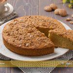 Torta di zucca e amaretti soffice ricetta | Ho Voglia di Dolce