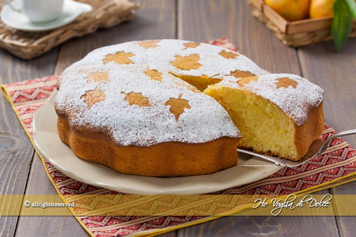 Pan di mandarino ricetta con mandarini frullati Ho Voglia di Dolce