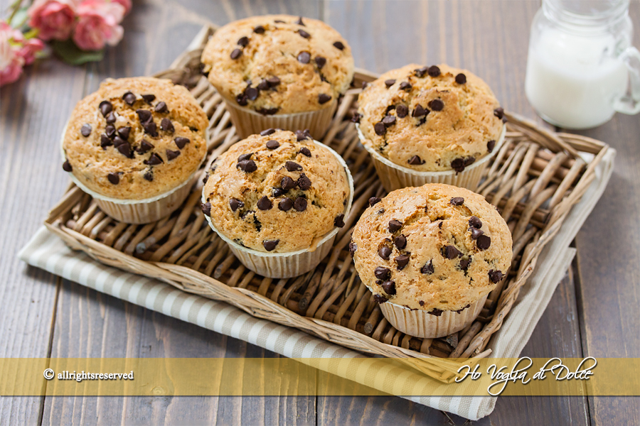 Muffin con farina integrale senza burro ricetta | Ho Voglia di Dolce