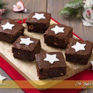 Brownies stellari facili e veloci ricetta | Ho Voglia di Dolce