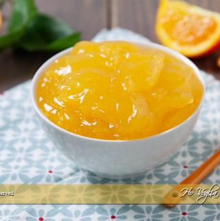 Crema all'arancia senza uova e latte ( all'acqua)