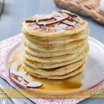 Pancakes al cocco ricetta veloce | Ho Voglia di Dolce