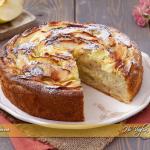 Torta di mele e crema pasticcera ricetta | Ho Voglia di Dolce