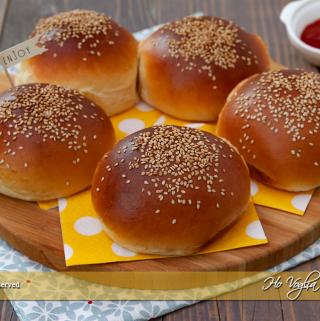 Burger buns, i panini per hamburger
