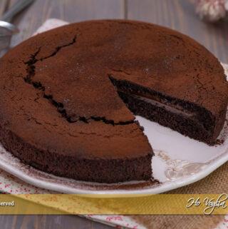 Torta cuor di cioccolato
