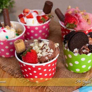 Frozen yogurt senza gelatiera pronto in 5 minuti!