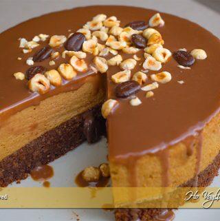 Torta mousse al caffè e cioccolato